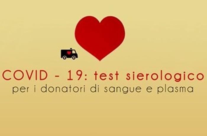 Test sierologico per i donatori di sangue e plasma in Emilia-Romagna